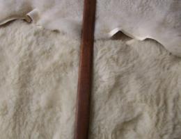 Fourreau épée 'couture en croix '