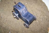 Tirelire tracteur